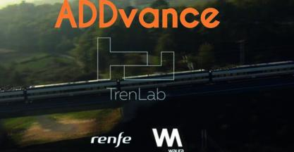 ADDVANCE has been selected for the business acceleration program Trenlab, powered by RENFE and Telefónica.