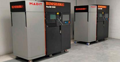 Madit Metal apuesta por los sistemas RENISHAW de Fabricación Aditiva Metálica con la instalación de dos RenAM 500M