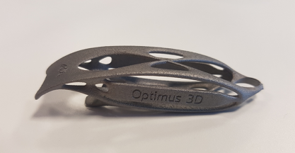 Optimus 3D receives EN 9100:2018 certification for aerospace, aviation and defence markets