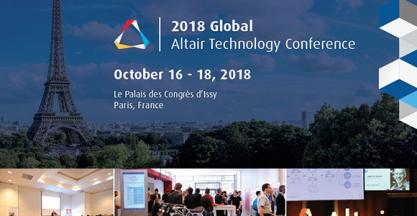 Congreso tecnológico europeo exclusivo en simulación, optimización y fabricación aditiva de Altair Engineering