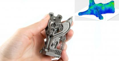 MATERIALISE improves Metal 3D Printing with Simulation and E-stage