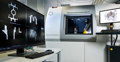 Soluciones de WAYGATE TECHNOLOGIES para inspección de polvos mediante CT