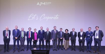 The President of the Basque Region chairs the General Assembly of AFM