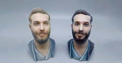 Selfi3D invierte en la nueva impresora 3D J55 de Stratasys para crear modelos 3D ultrarrealistas de personas con PIXEL SISTEMAS