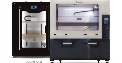 SICNOVA showcases in Formnext 2018 its new line of smart 3D printers for the industry, JCR3D