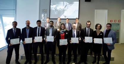 ZAYER, CORREA, ADDILAN Y SAVVY, winners of the 2018 innovation awards for advanced and digital manufacturing