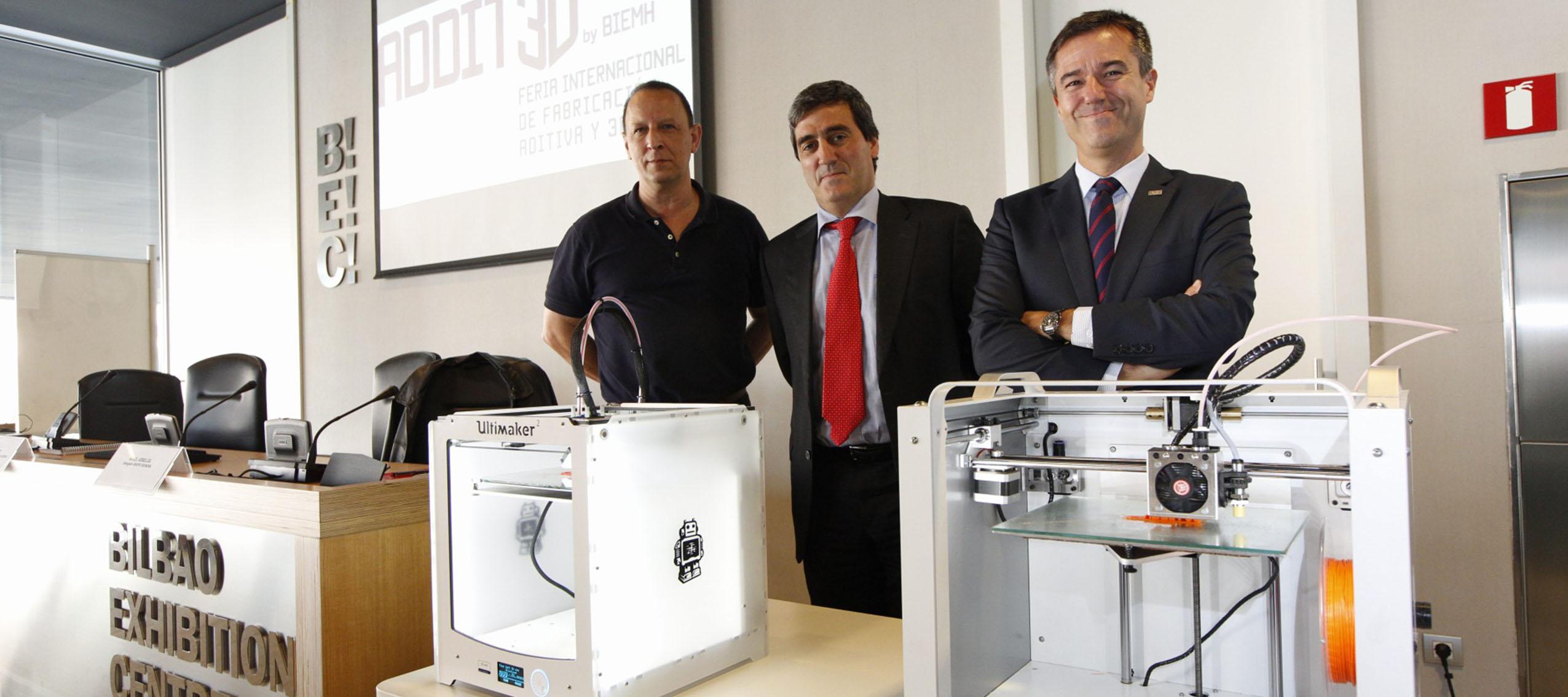Addit3d, primera feria profesional de fabricación aditiva y 3D