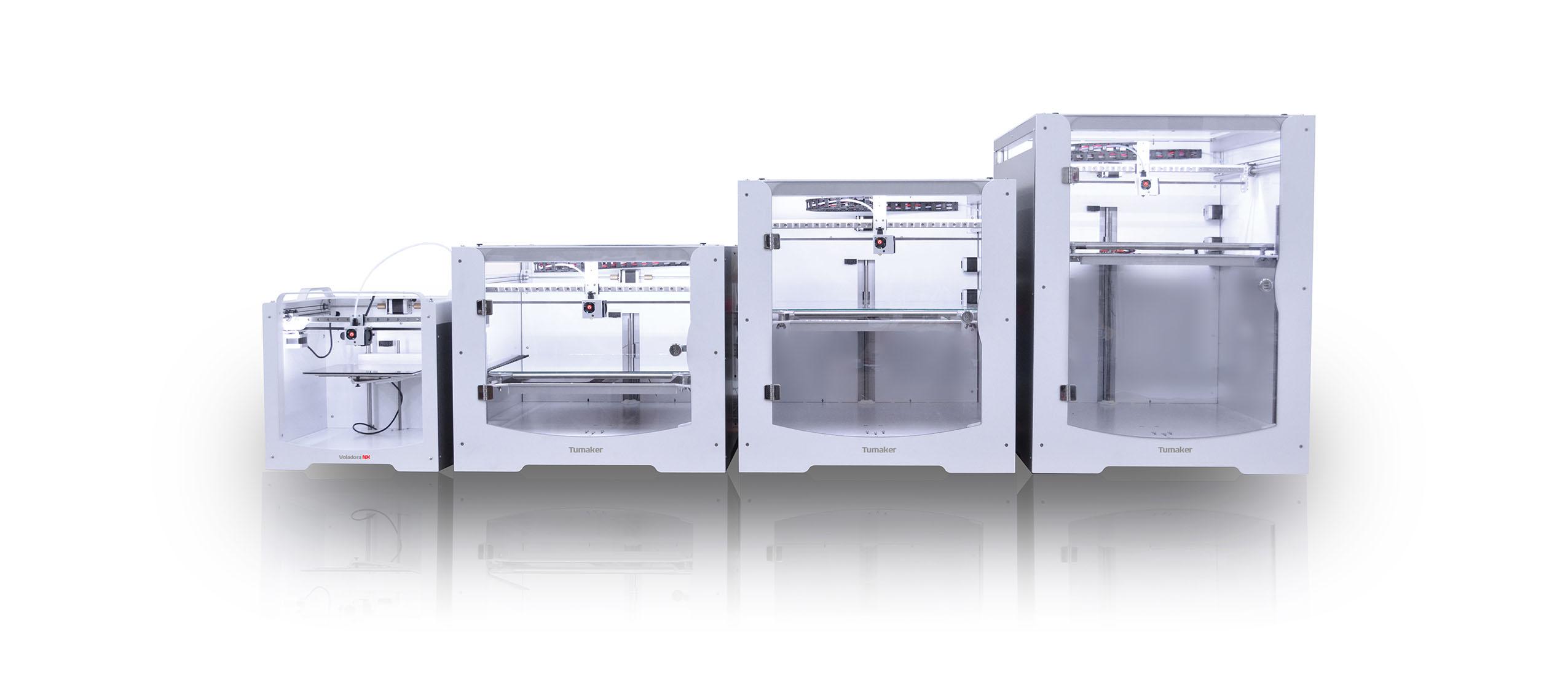 Tumaker presenta su nueva gama de estaciones de impresión 3D