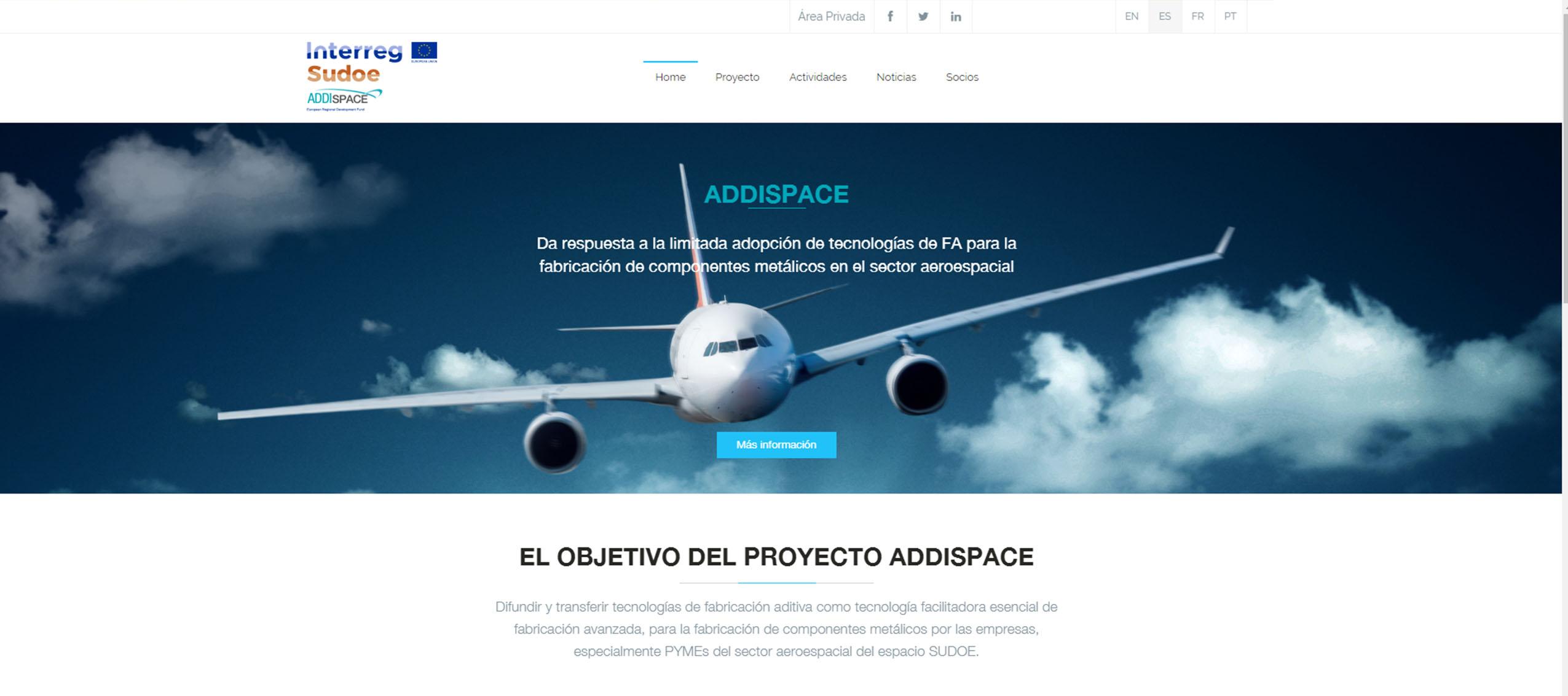 ADDISPACE estrena página web