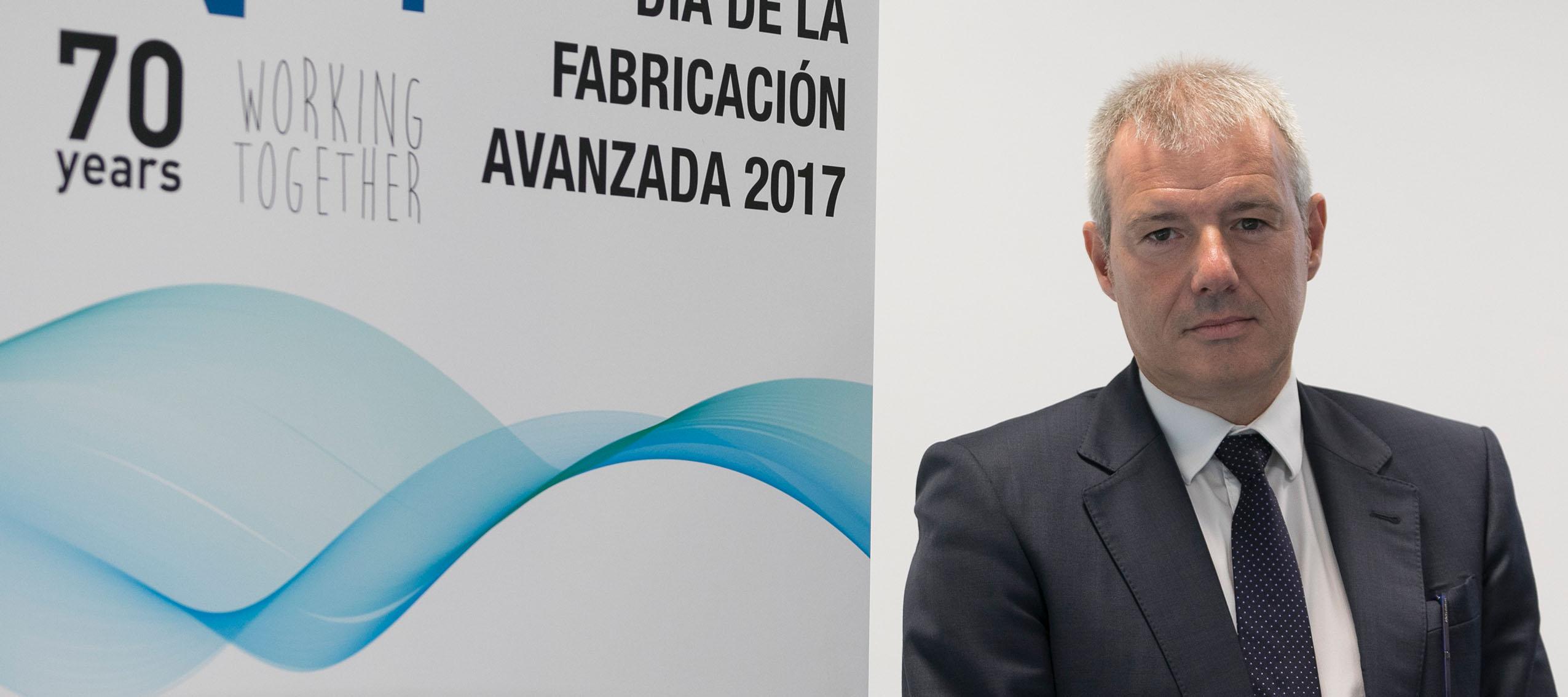 Alfonso Urzainki de EGILE CORPORATION XXI, nuevo presidente de ADDIMAT