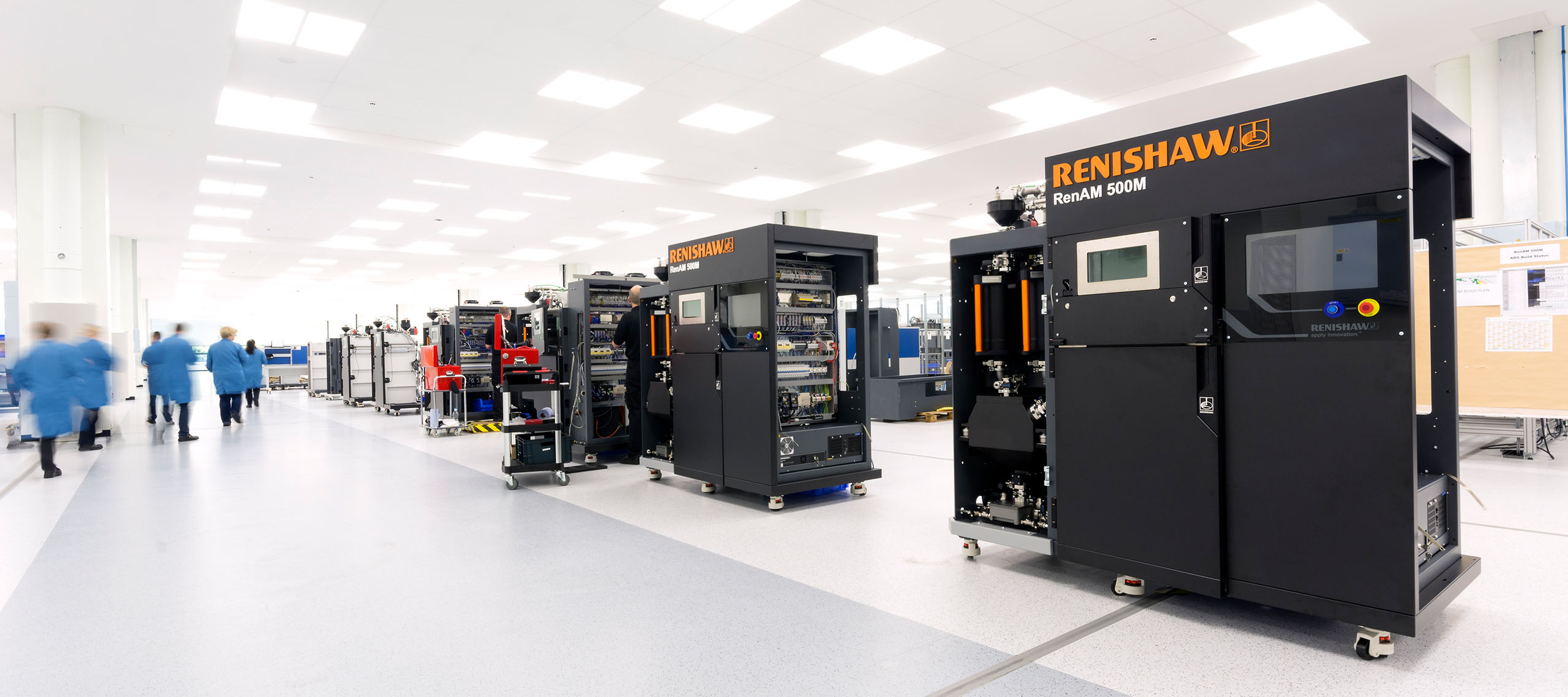 Renishaw will bring the latest innovations in metal additive manufacturing to Addit3D 2017