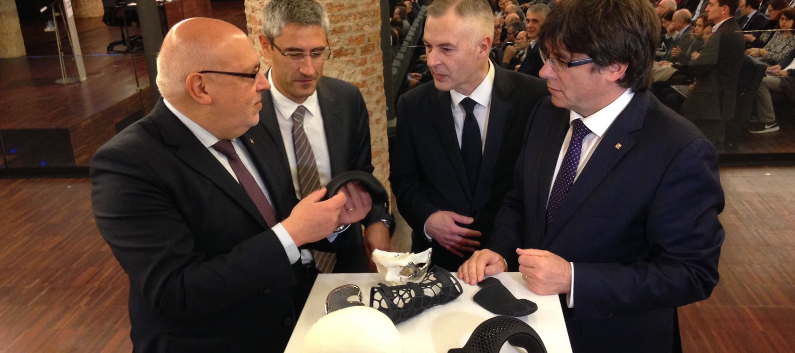Barcelona pondrá en marcha el Global 3D Printing Hub