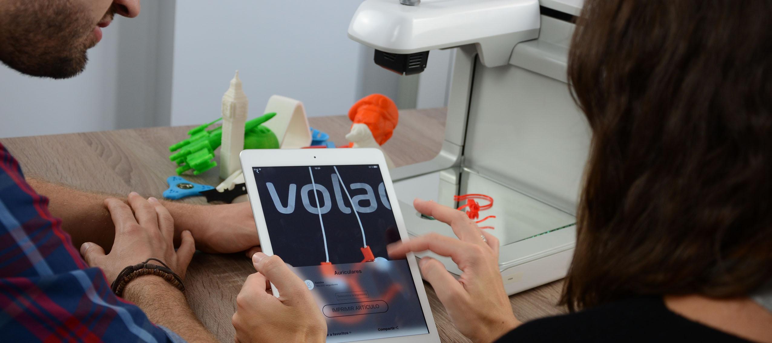 Voladd, la primera impresora 3D creada en España que alcanza el éxito en Kickstarter