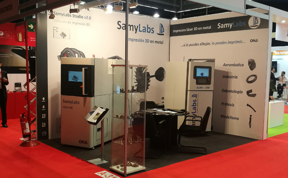 SAMYLABS develops the first 3D metal SLM printer in the state