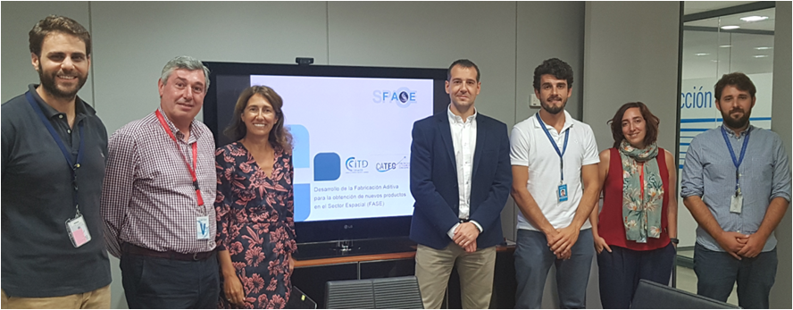 """CiTD and FADA-CATEC develop """"Fase"""" project for the development of new products within the aerospace sector"""