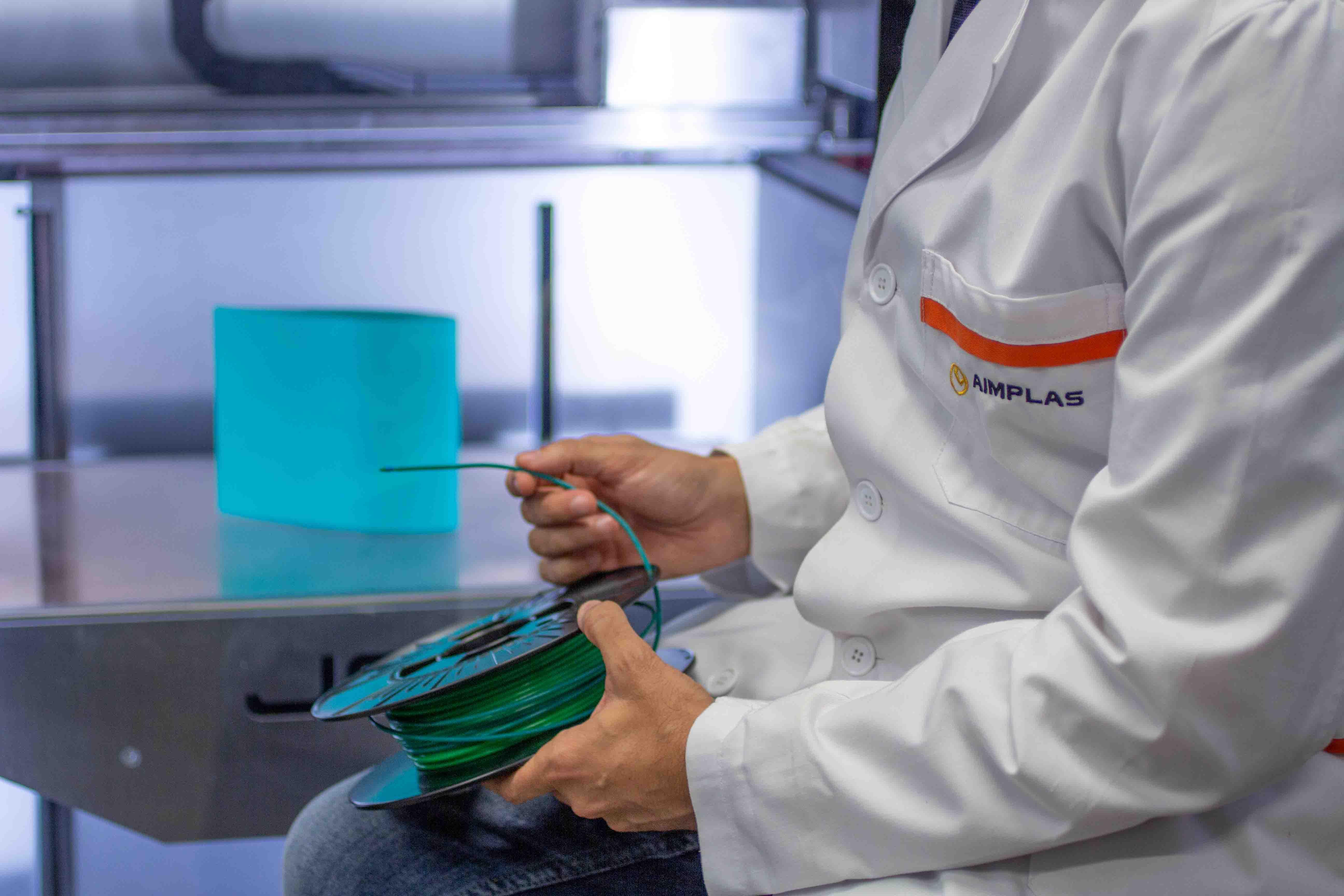 AIMPLAS introducirá nuevos materiales plásticos conductores térmicos en la impresión 3D