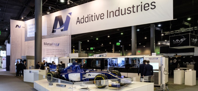 AYS Fabricación 3D estará presente en la feria FormNext de la mano de Additive Industries mostrando los últimos avances en Fabricación Aditiva Industrial
