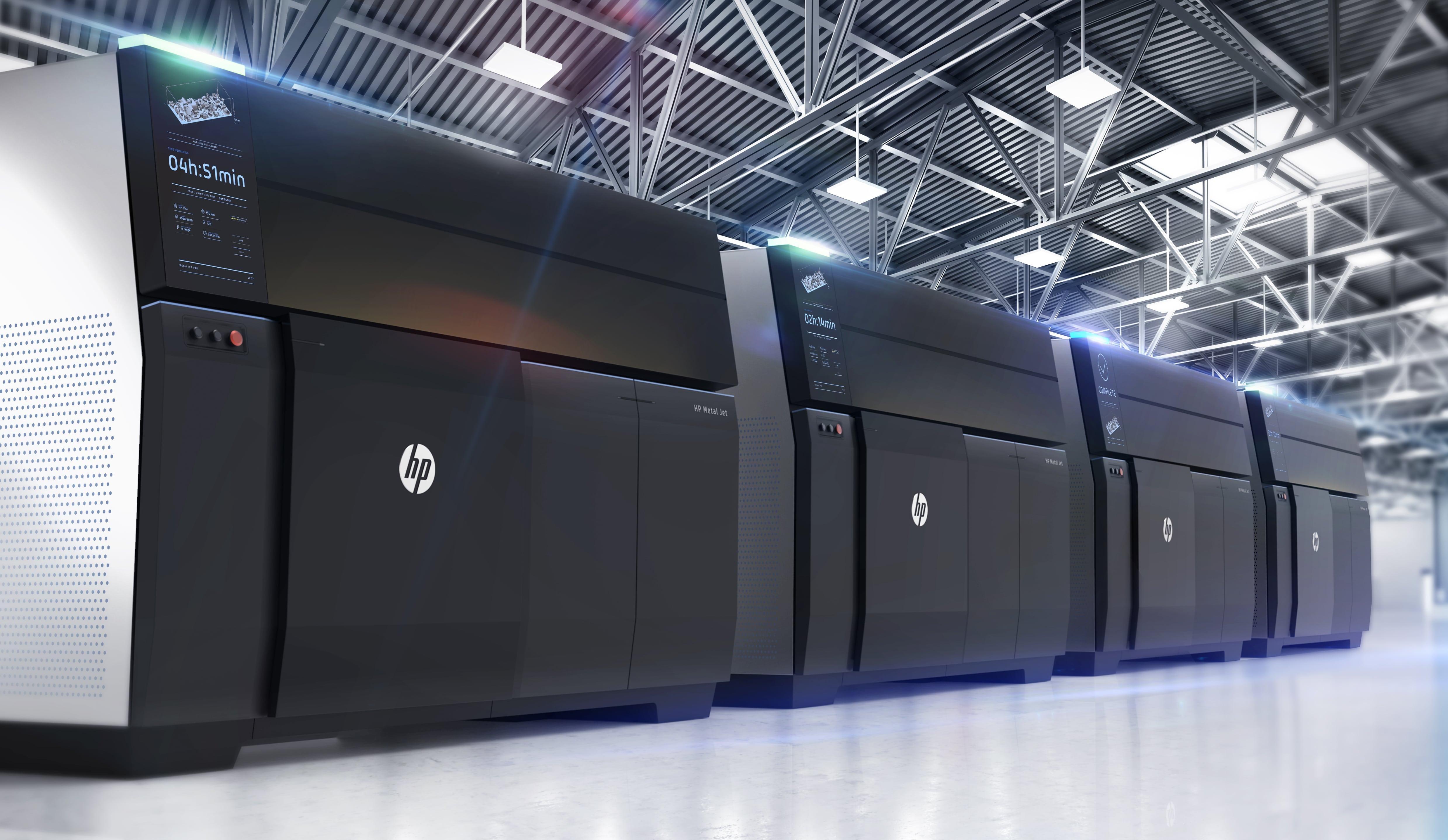 HP lanza la tecnología de impresión 3D para la producción de piezas metálicas que acelerará la 4ª Revolución Industrial