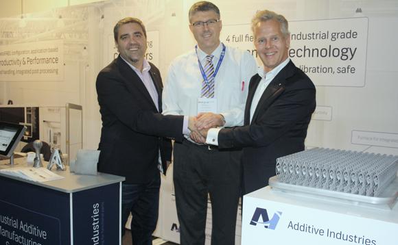 Additive Industries y Análisis y Simulación firman acuerdo de colaboración para la venta de tecnología y servicios asociados a la fabricación aditiva en metal