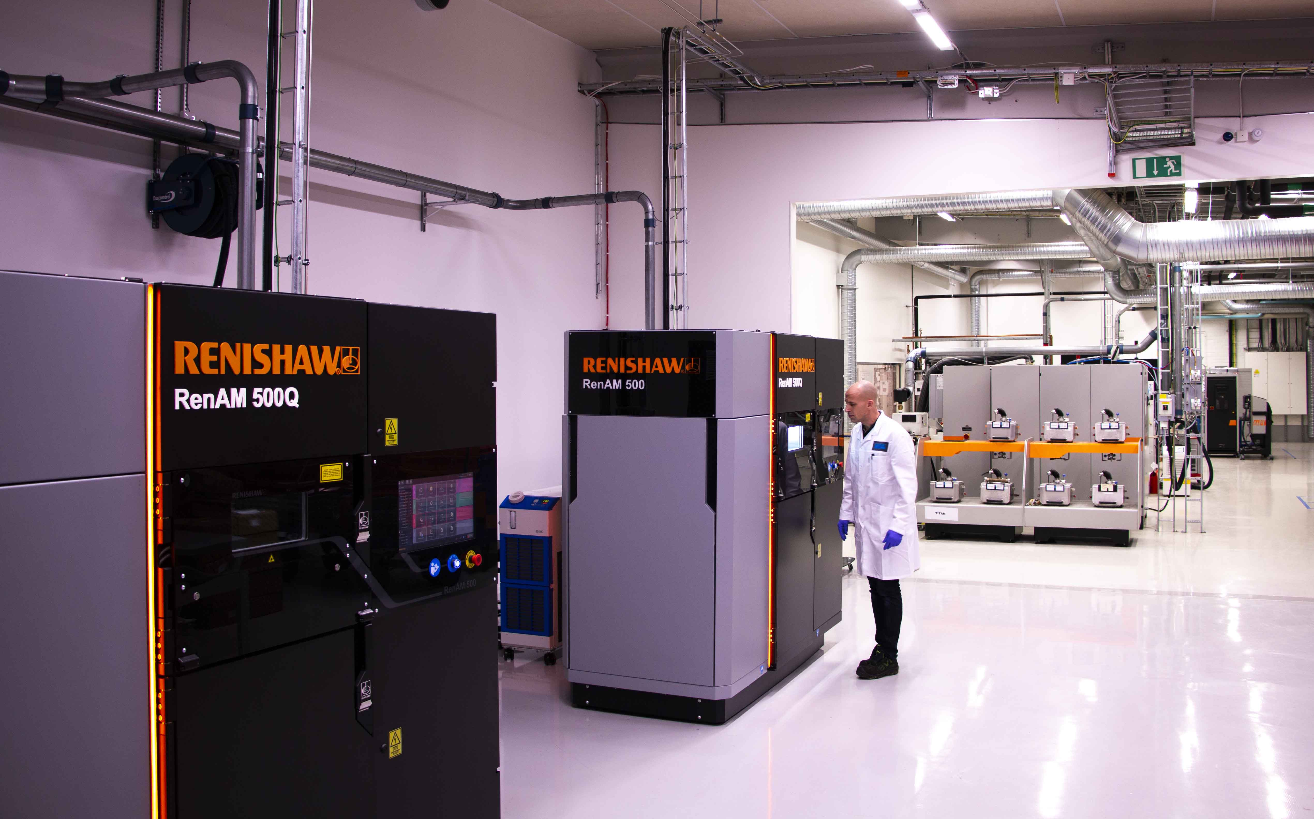 RENISHAW and Sandvik power the future of metal Additive Manufacturing