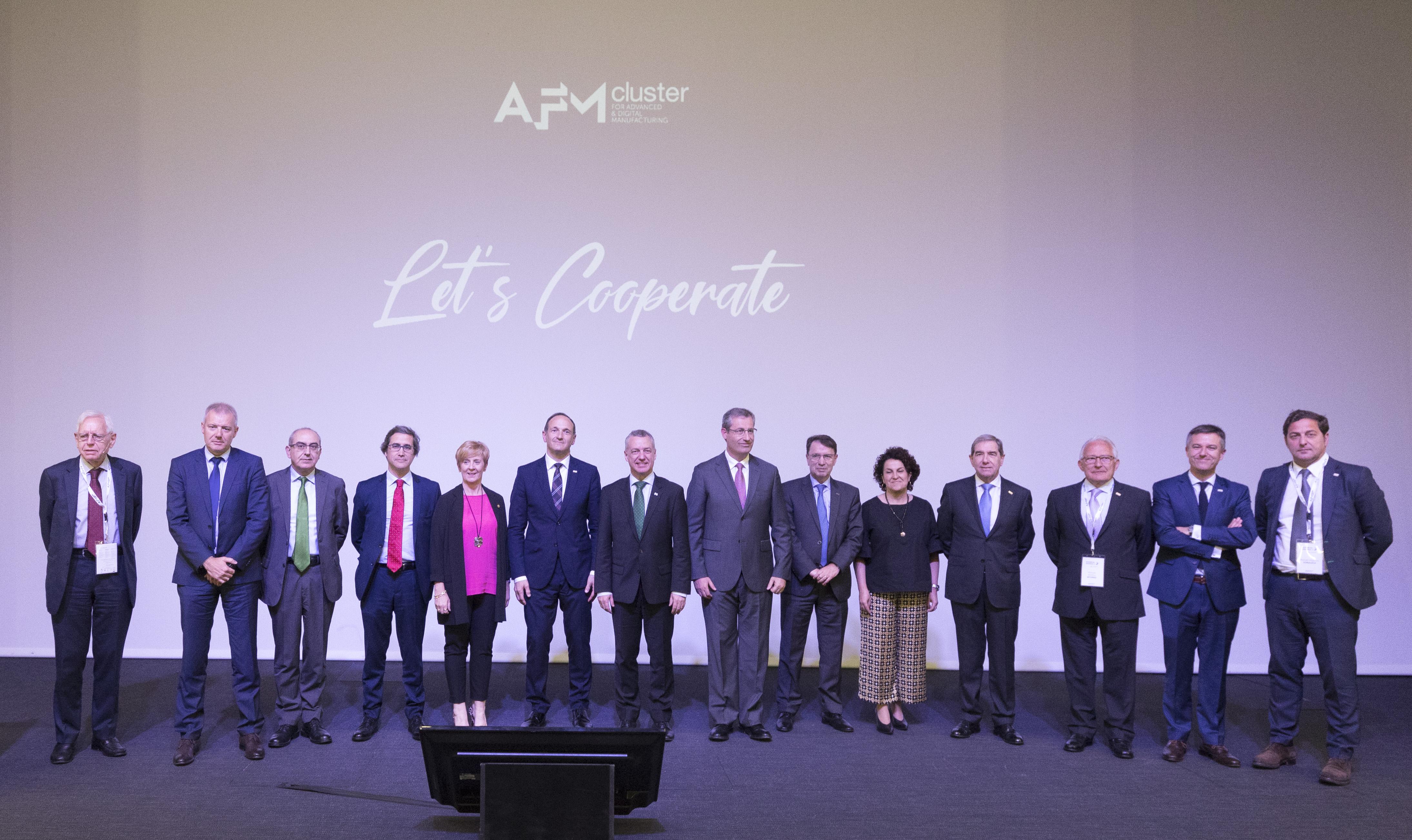El lehendakari preside la ASAMBLEA GENERAL DE AFM CLUSTER