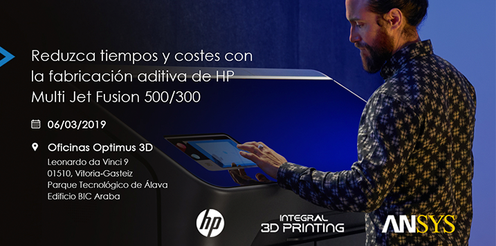 INTEGRAL 3D PRINTING presents the new range of HP 3D printers and exposes how to optimize printed parts by simulation