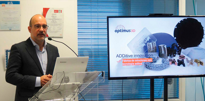 OPTIMUS 3D and RENISHAW commited to additive manufacturing in the manufacture of hand tools for industrial sectors