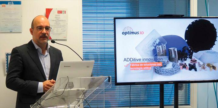 OPTIMUS 3D y RENISHAW apuestan por la fabricación aditiva en la manufactura de herramientas de uso industrial