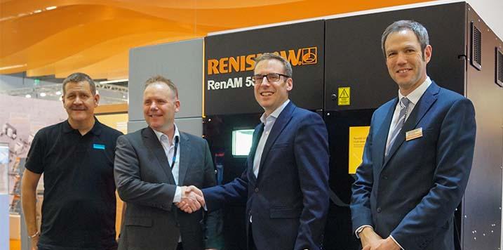 RENISHAW y Sandvik colaboran en la aprobación de nuevos materiales de FA