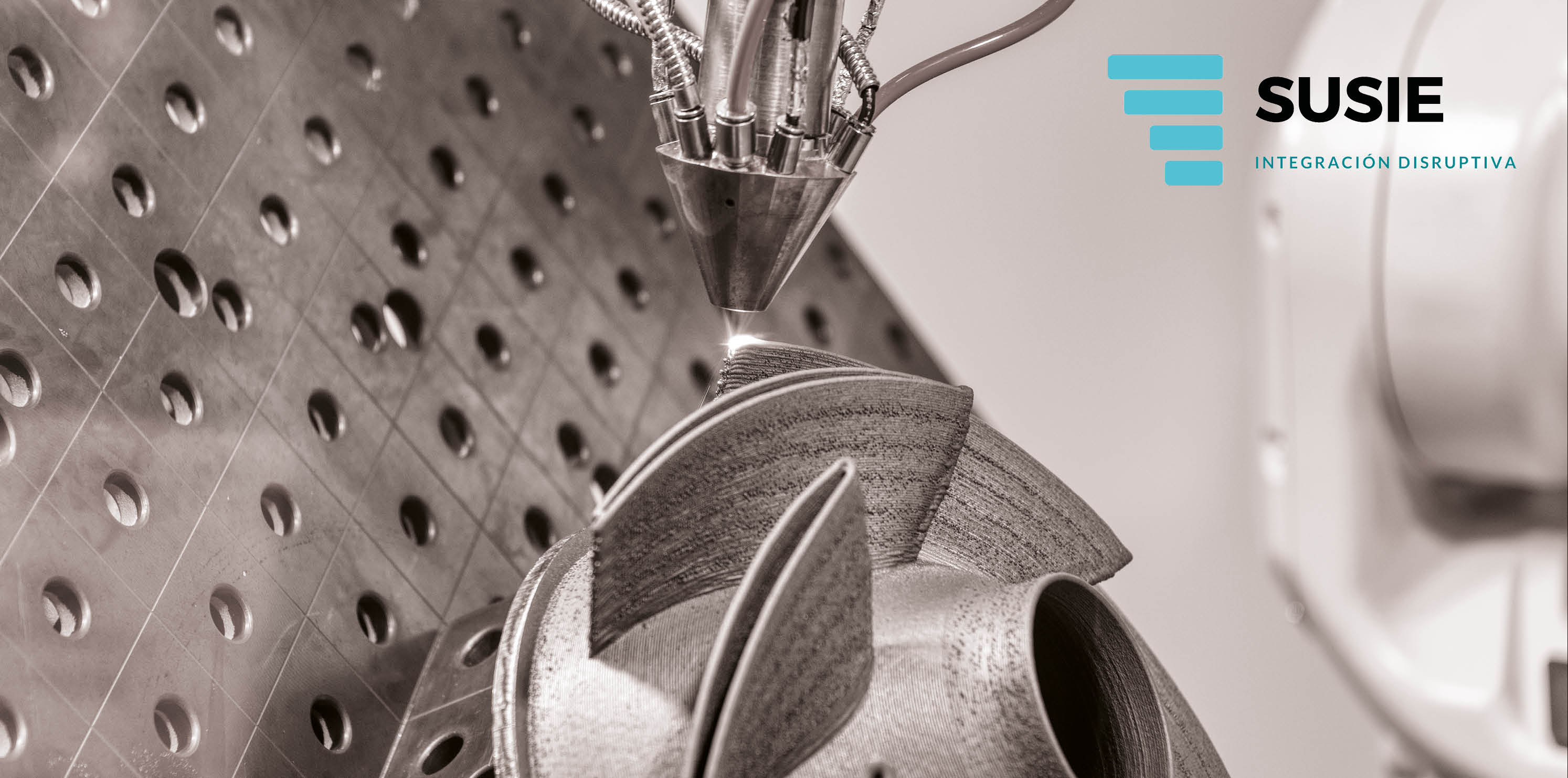 Arranca el proyecto SUSIE para la integración disruptiva de sensórica inteligente en máquinas mediante el empleo de tecnología aditiva