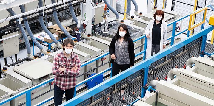 CIDETEC Surface Engineering aplica pulido químico para superar los límites de la fabricación aditiva en piezas de aeronáutica