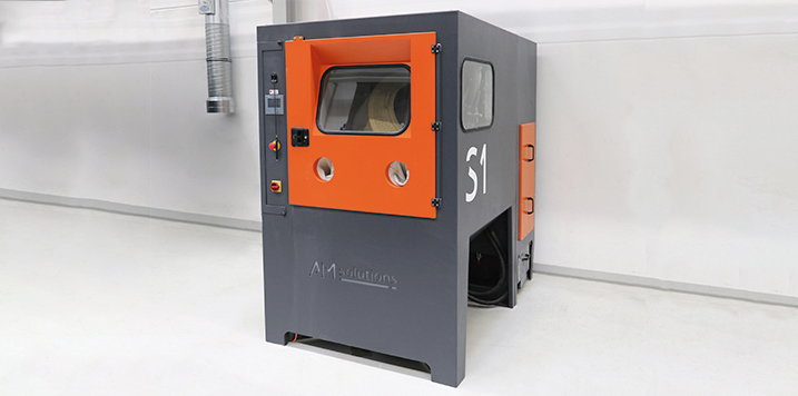 Oechsler invierte en el sistema de post procesado S1 de AM SOLUTIONS, tecnología de post procesado 3D