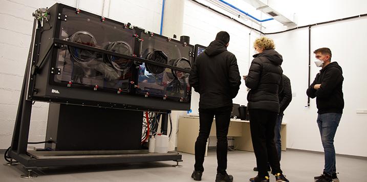 CEIT, a la vanguardia de la fabricación aditiva gracias a su nueva máquina de Binder Jetting