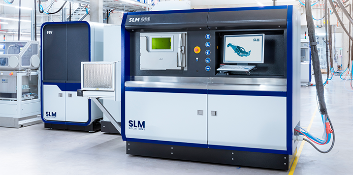 DELTECO distributes additive manufacturing machines from SLM Solutions