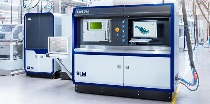 DELTECO nuevo distribuidor de máquinas de fabricación aditiva de SLM Solutions