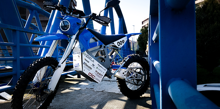 MADIT Metal uses RENISHAW's PBLF (Power Bed Laser Fusion) technology for the Deusto Moto Team